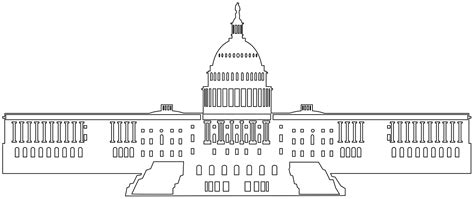 united states capitol building coloring page 92 the united states capitol building coloring page