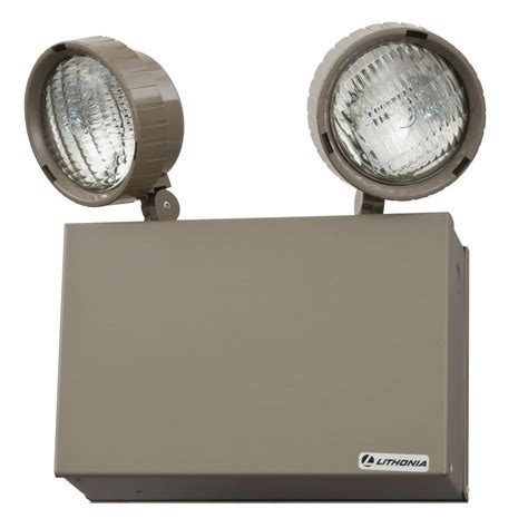 Emergency Lighting Fixture Krypton Emergency Exit Lights Commercial Lighting The Home Depot