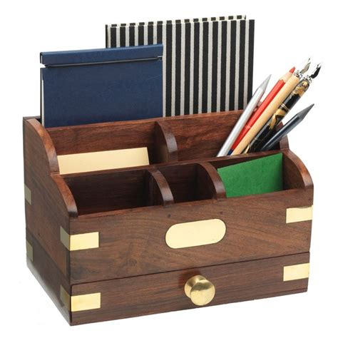 Wooden Desk Organizers 25 Best Ideas About Desk Tidy On Wooden Desk Organizer Stationary Storage And