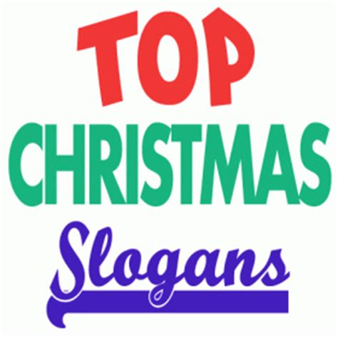 christmas taglines slogans and sayings