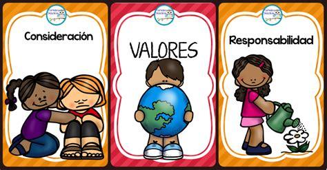 Imagenes Educativas Gratis | tarjetas para trabajar los valores 2017 imagenes educativas