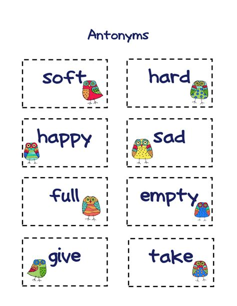 employment pattern synonym 50 exles of antonyms worksheets releaseboard free