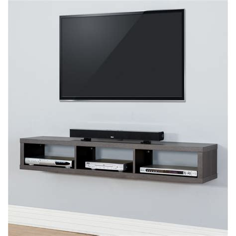Hanging Tv Cabinet by 25 Best Ideas About Wall Mounted Tv On