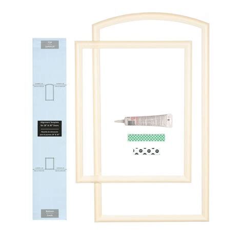 Closet Door Kits Ez Door 28 In Width Interior Door Self Adhering Decorative Frame Kit Ezd Fr 28 The Home Depot