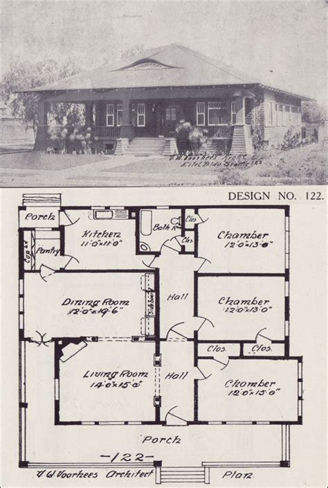western home plans 1908 bungalow house plan western home builder design