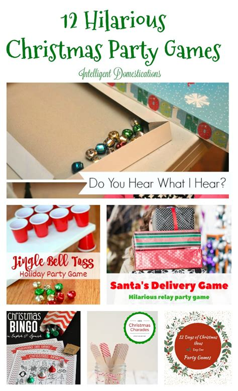 12 super fun christmas holiday party games made in a day