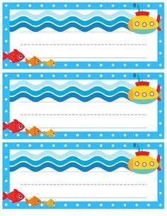 ocean themed desk name tags set of cubbies and work ocean themed desk name tags ocean themed classroom work