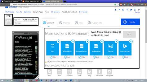 membuat email windows phone cara membuat aplikiasi windows phone dengan aplikasi