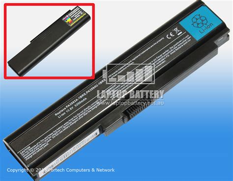 Battery Batre Toshiba Portege R500 A600 R600 Pa3612u Comp Batltos37 laptop battery cheap laptop battery australia and new