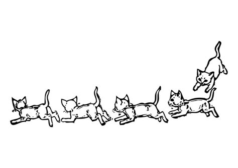 coloring page cats img