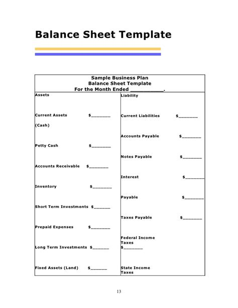 daily balance sheet template money balance sheet template pictures to pin on