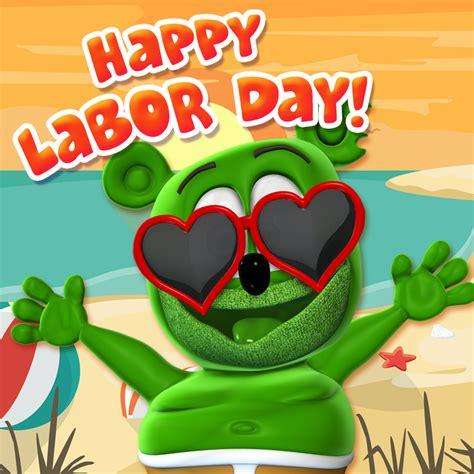 happy labor day gummibaer
