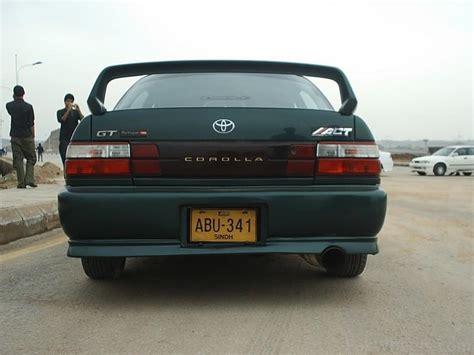 Toyota Corolla 95 Modified Toyota Corolla 1995 Modification Corolla Pakwheels