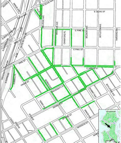 seattle parking zone map brad s mobile info in seattle