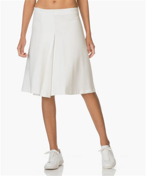 white swing skirt shop the look cozy vs clean perfectly basics