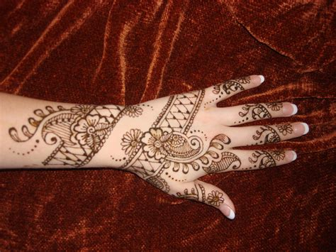 henna design patterns wonderful hand henna design entertainmentmesh