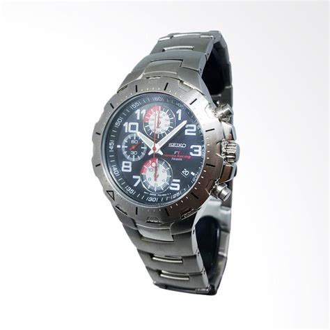 Tali Jam Tangan Press Jahit antvklik store seiko chronograph tali rantai jam tangan pria 151380