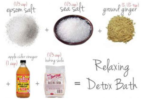 Sea Salt Detox Bath Recipe by 5 Easy Diy Detox Bath Recipes Arthritis Depression Fatigue