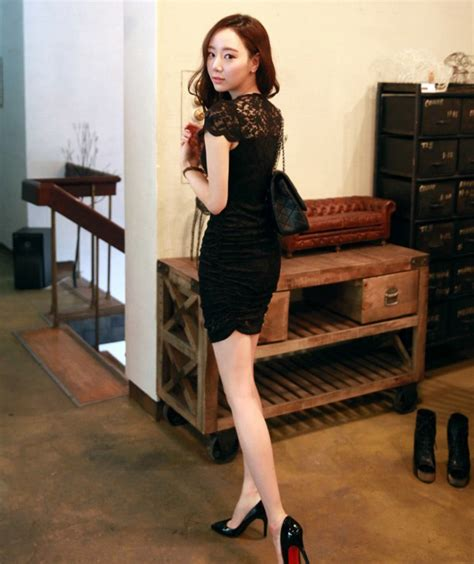 Shjt1170905106481 Baju Hitam Brokat Termurah Dress Import Korea Hitam Cantik Dress Import Korea Hitam