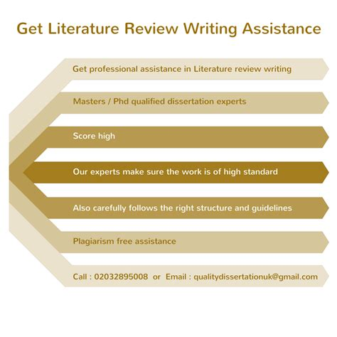 literature review of dissertation how to write a literature review for a dissertation or phd