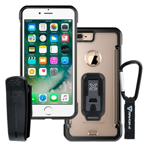 I Protective apple iphone 7 plus protective with belt clip and