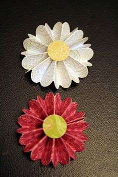 How To Make Flat Paper Flowers - 1000 images about flowers on spirals stin