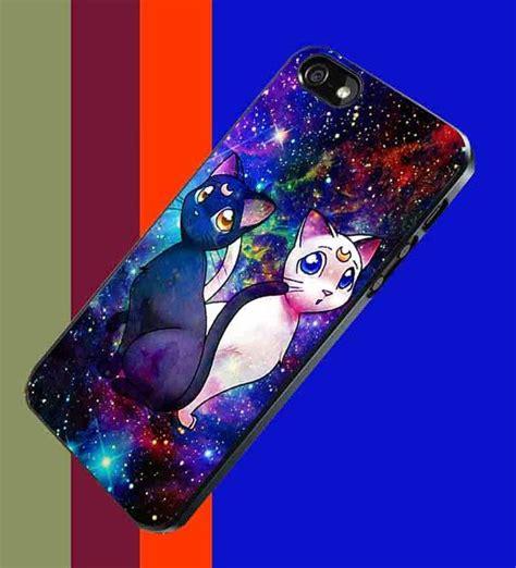 Sailor Moon Iphone 5s sailor moon artemis cat galaxy nebula design for iphone 4 4s iphone 5 5s 5c samsung