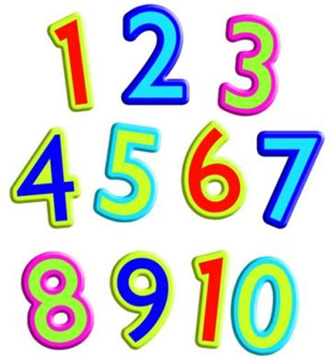 Clipart Numbers 1 10 clip numbers 1 10 cliparts co