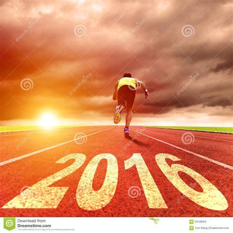 new year 2018 run happy new year 2016 running stock photo image
