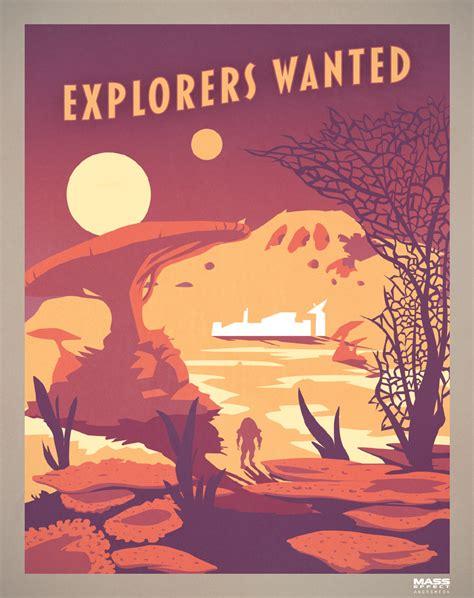 libro art of mass effect explorers wanted bioware blog