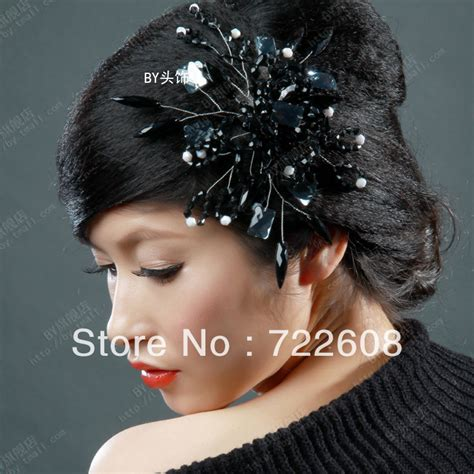 Wedding Hair Accessories Black by Stock Headbands The Wedding Flower Hair Accessories Bridal