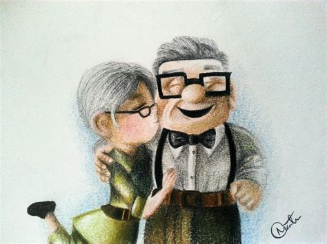imagenes de up carl y ellie carl and ellie up by nicolethetan on deviantart
