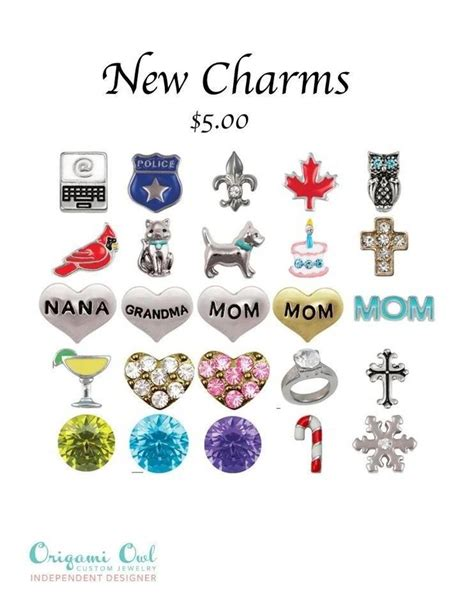 cheap origami owl charms 38 best organization images on scrapbook paper