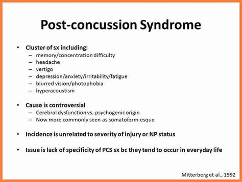 post concussion syndrome settlement  marital