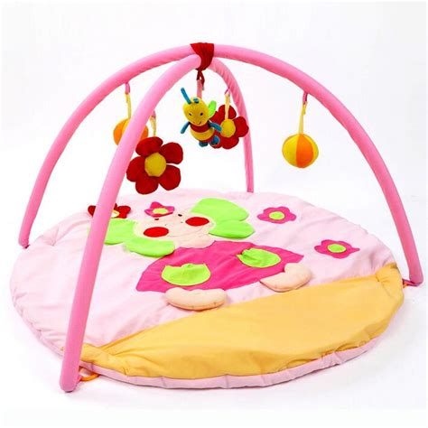 baby educational toys crawling mat pink elephant infant