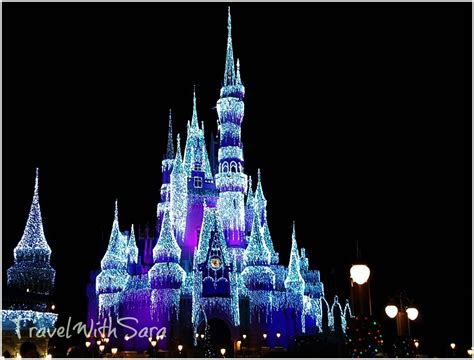 Staying Connected Through The Holidays With Mycharge Disney World Castle Lights