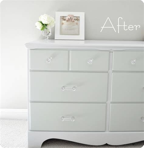 painting a dresser white two tone treasure how to paint furniture centsational girl