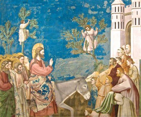 ingresso a gerusalemme i segni messianici al cuore della religione cammini di