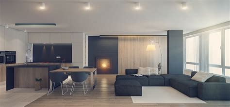 gray interior three sleek apartments under 1500 square feet from all in