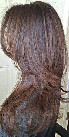 long hair short layer cut and blow out beautiful haircut long hair layers каскад на длинные волосы