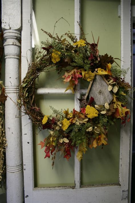 Dried Wreaths Front Door Dried Flower Wreath Front Door Wreath Fall