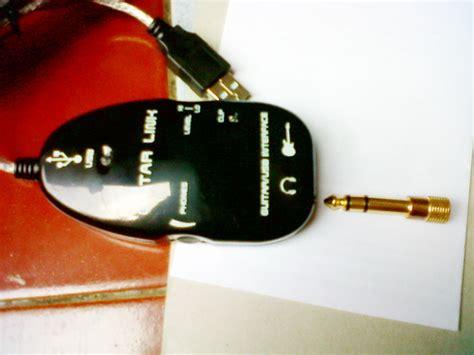 Jual Usb Guitar Link Kaskus usb guitar link cable for pc mac solusi murah untuk