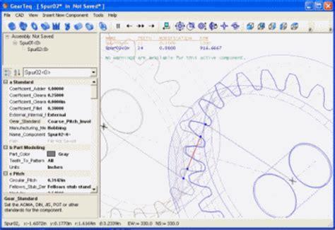 gear layout software camnetics gearteq gear design software