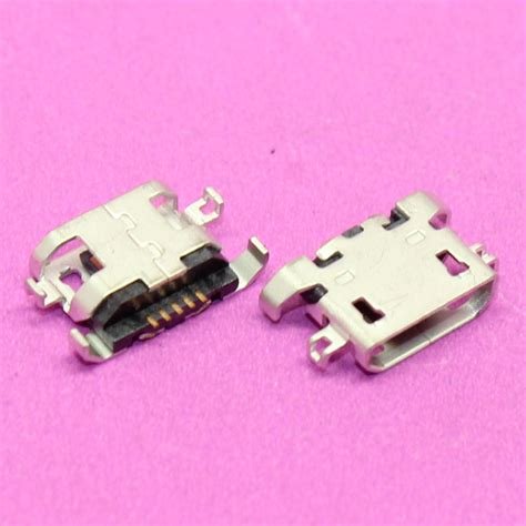 Flexibel Charger Lenovo S650 100pcs new micro usb 5p socket phone charging port for lenovo s650 s820 s658t a830