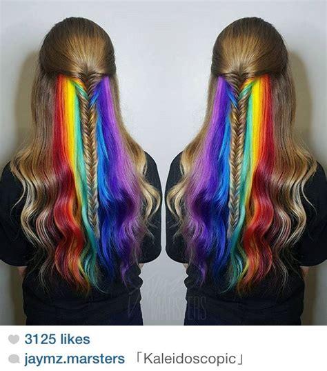 peekaboo color 1000 ideas about peekaboo hair colors on