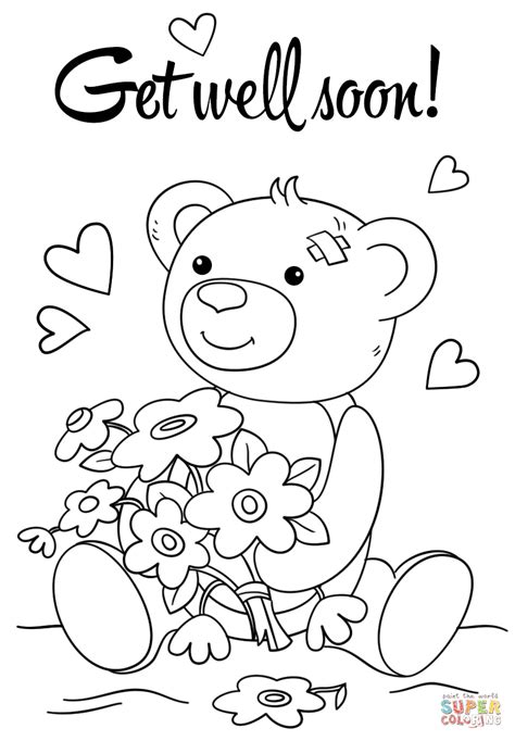 get well soon grammy coloring page coloring pages get