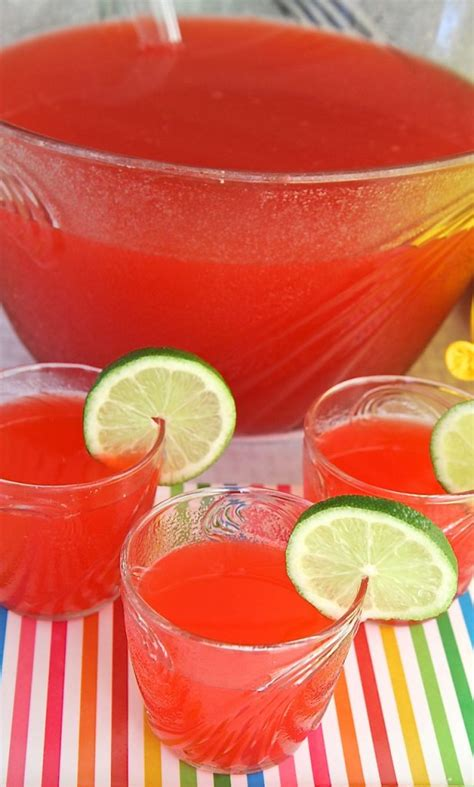 how to make party punch non alcoholic