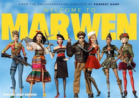 filme schauen welcome to marwen welcome to marwen 2018 poster 4 trailer addict
