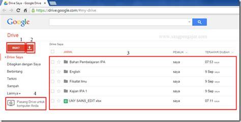 membuat file di google drive membuat dan mengupload file di google drive tutorial1