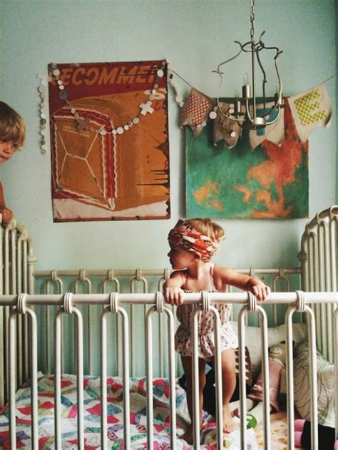 How To Get The Look Bohemian Style Kids Bedroom Petit Bohemian Nursery Decor